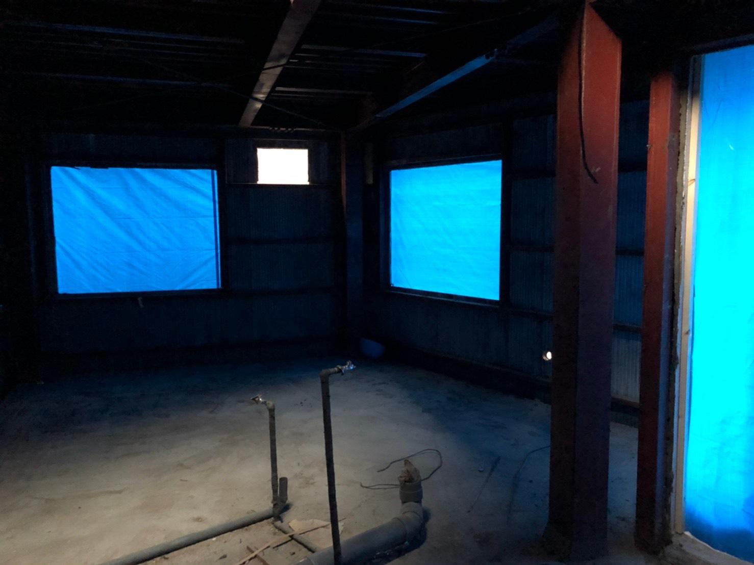 朝霞市 木造2階建て スケルトン工事